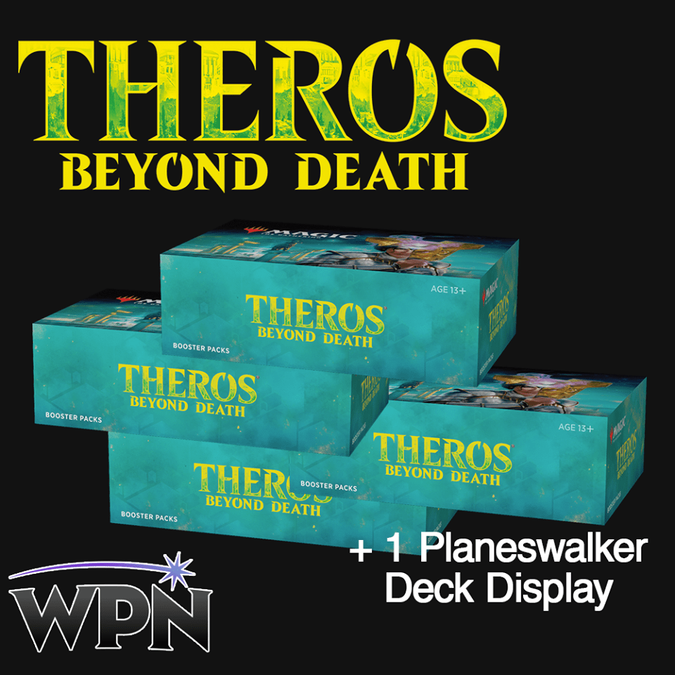 THB 4 Booster Boxes + 1 PW Display (WPN)