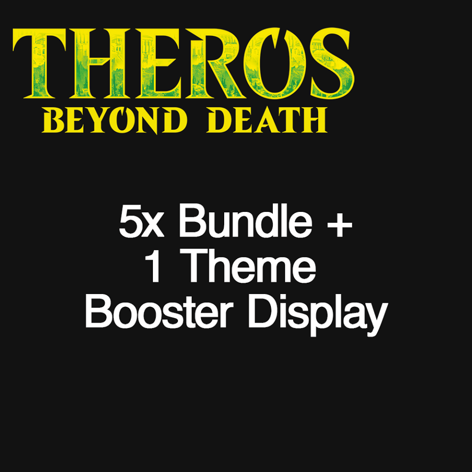 THB 5 Bundle + Theme Booster Display (Non-WPN)