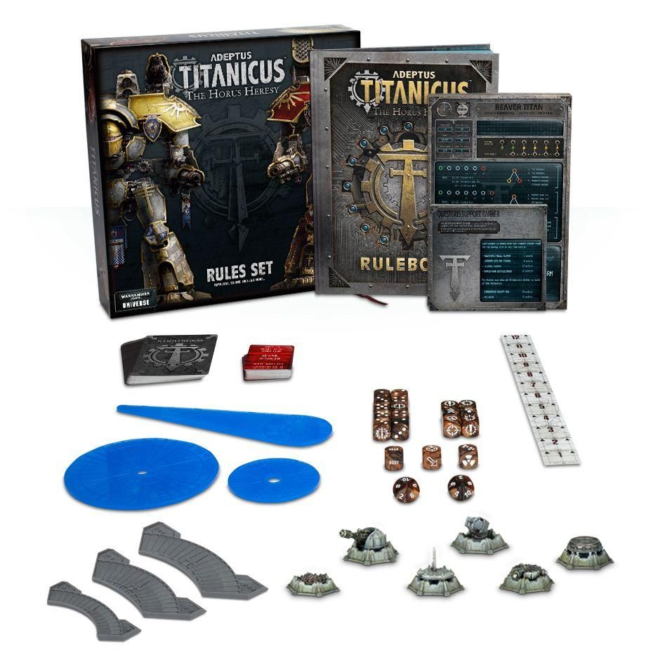 ADEPTUS TITANICUS THE HORUS HERESY RULES SET