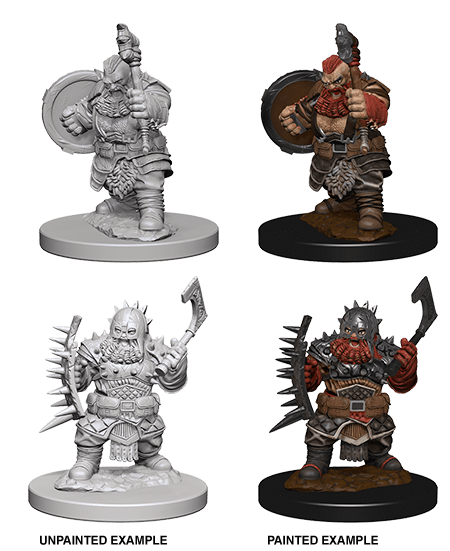 WizKids Deep Cuts Unpainted Miniatures