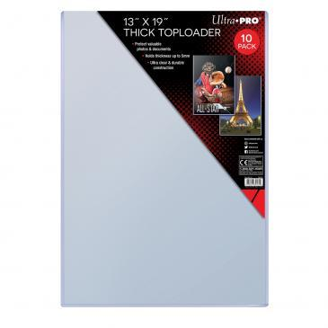 "13"" X 19"" Thick Toploader 10ct"