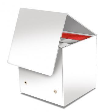 White Artist Series CUB3 - Designed to hold your Cube