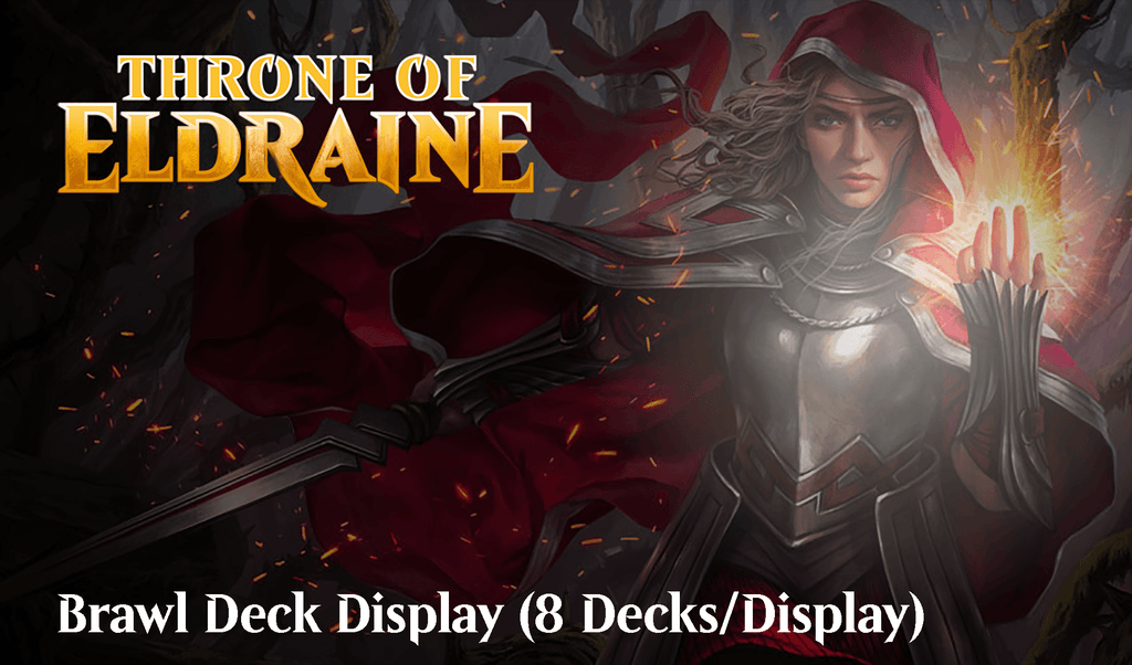 Throne of Eldraine: Brawl Deck Display