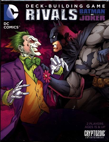 DC Deck-building Game: Rivals - Batman vs The Joker