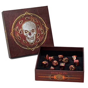 D&D Descent Into Avernus Dice Set