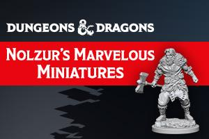 D&D Nolzur's Marvelous Miniatures Wave 5 to 7 Big Figures