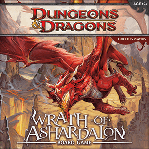 D&D Wrath of Ashardalon Board Game