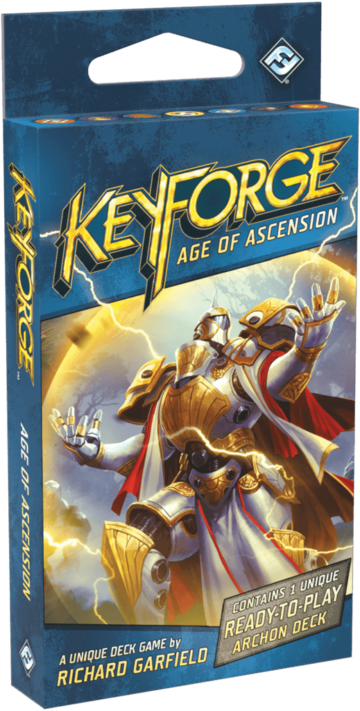 KeyForge: Age of Ascension Archon 12-Deck Display