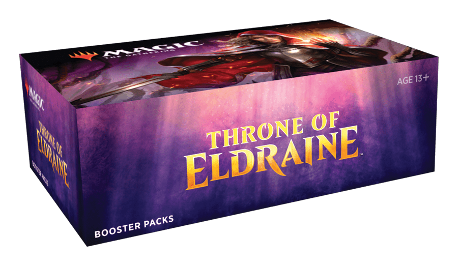 Throne of Eldraine: Booster Display - Non-WPN October 4 Release
