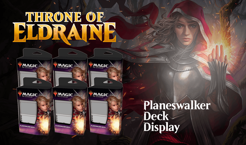 Throne of Eldraine: Planeswalker Deck Display