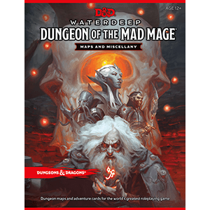 D&D Waterdeep: Dungeon of the Mad Mage Maps & Miscellany