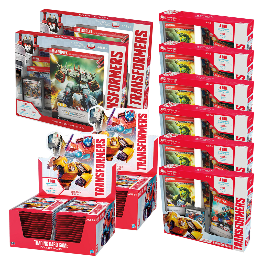 Transformers TCG Wave 1 Bundle
