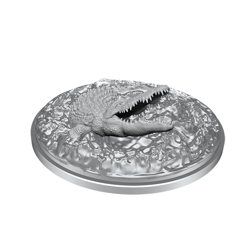 [Unpainted Miniatures] D&D Nolzur's Marvelous Miniatures - Crocodile