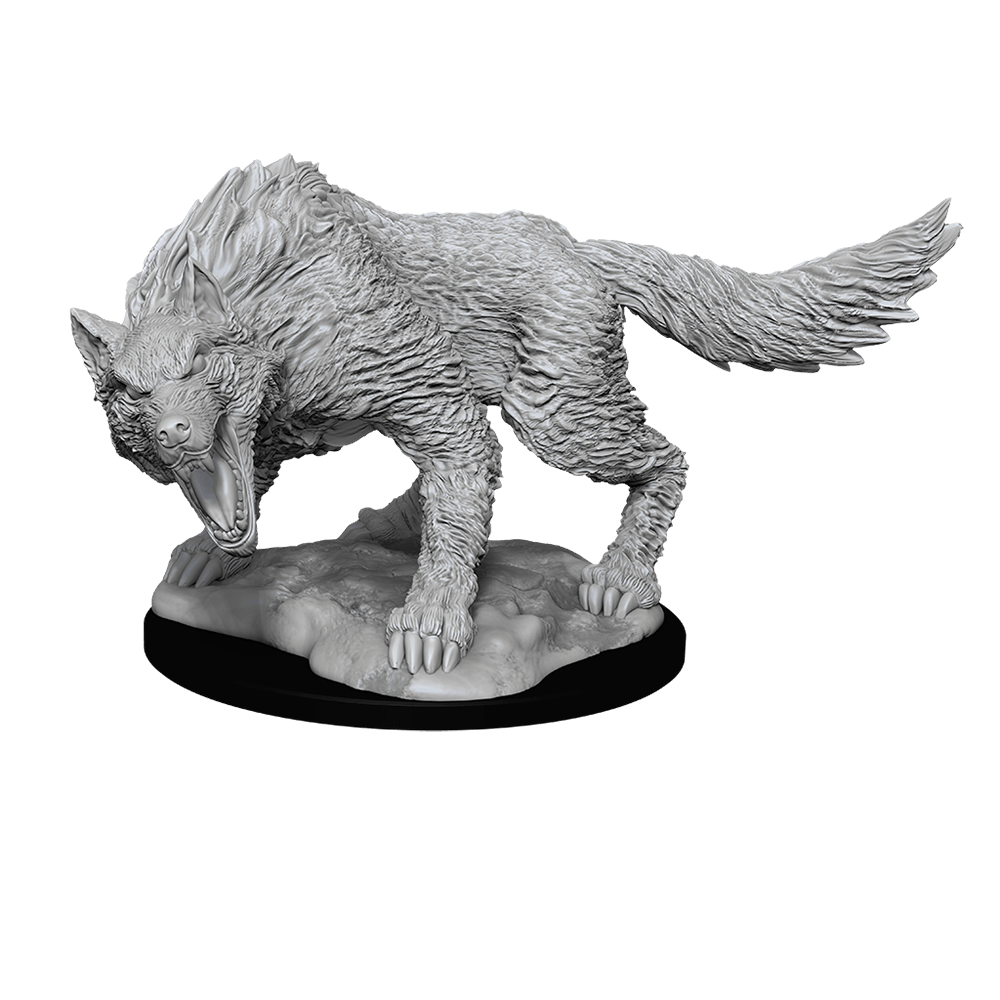 [Unpainted Miniatures] D&D Nolzur's Marvelous Miniatures - Winter Wolf
