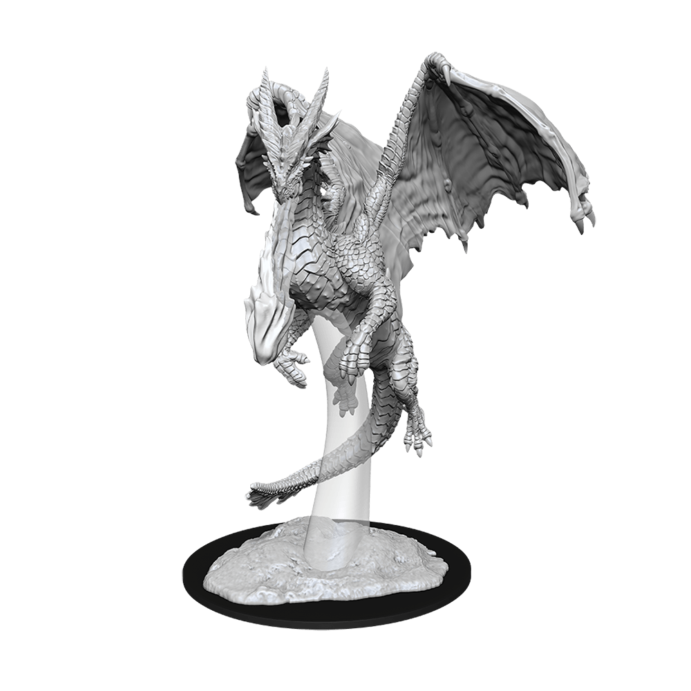 [Unpainted Miniatures] D&D Nolzur's Marvelous Miniatures - Young Red Dragon