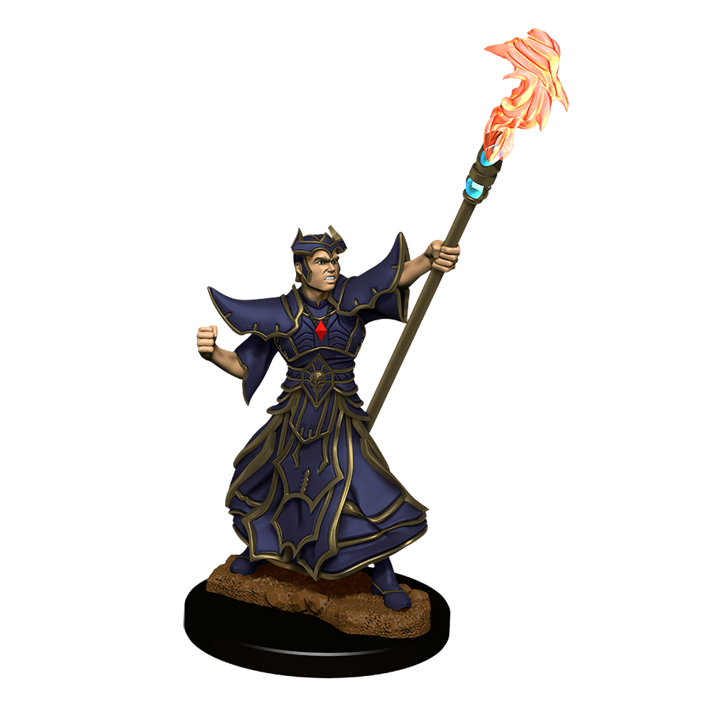 [Unpainted Miniatures] Pathfinder Battles™ Deep Cuts™ - Male Human Sorcerer