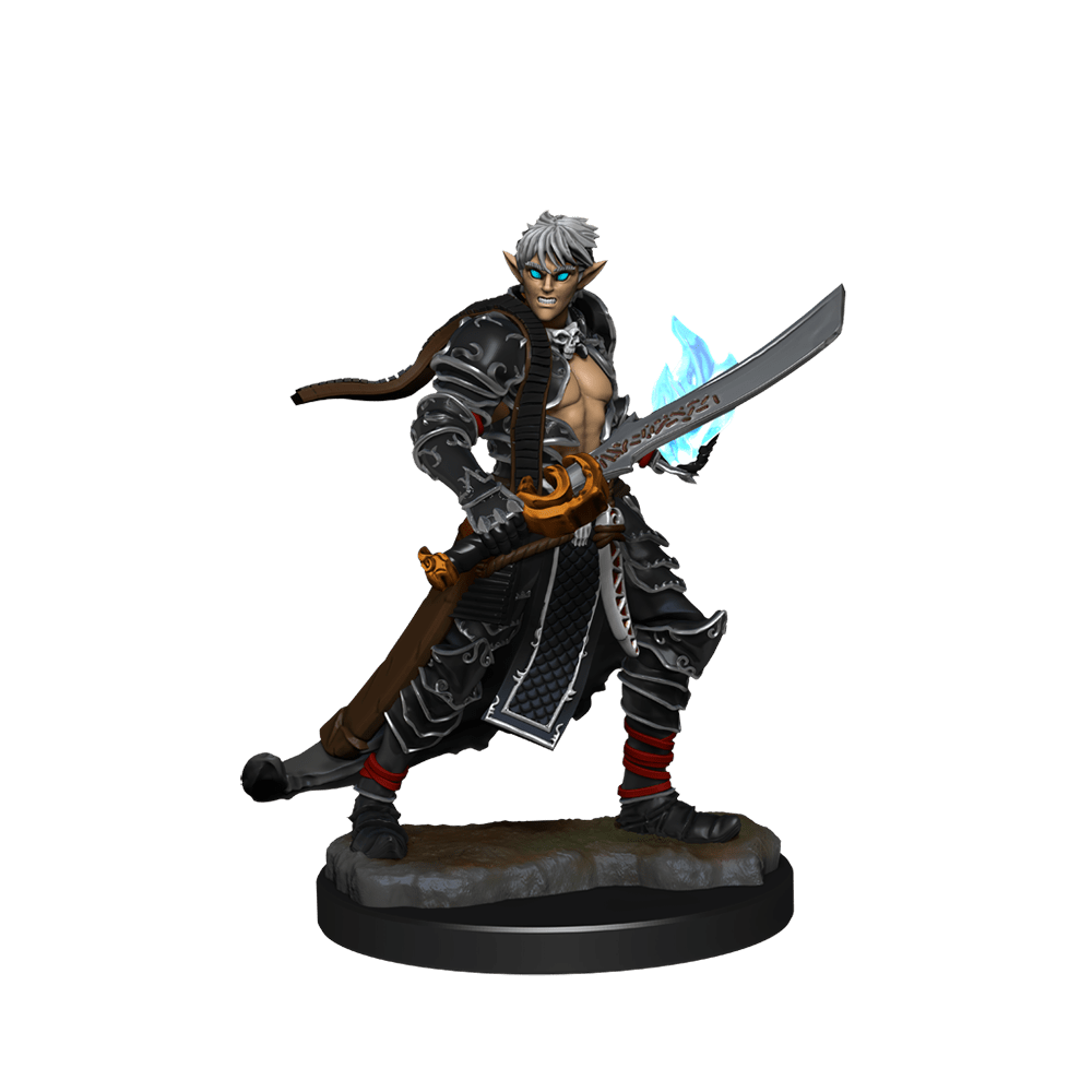 [Unpainted Miniatures] Pathfinder Battles™ Deep Cuts™ - Male Elf Magus (Magic User)