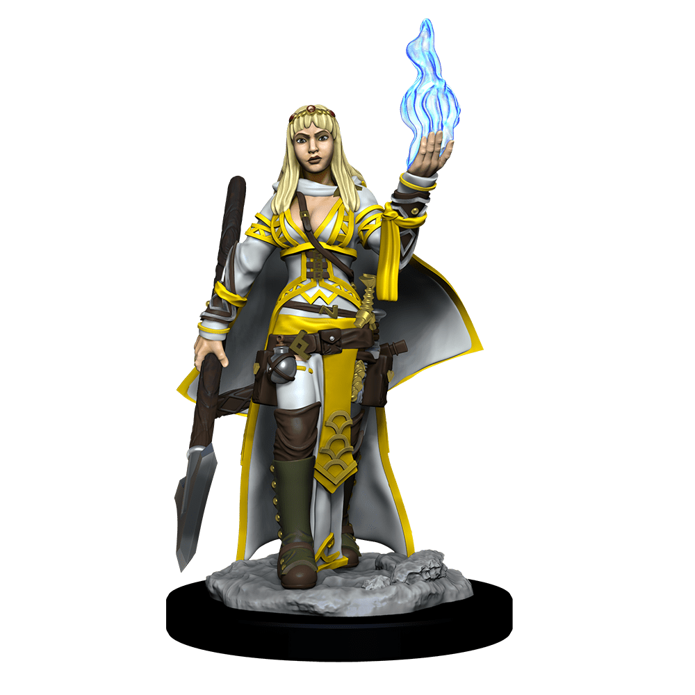 [Unpainted Miniatures] Pathfinder Battles™ Deep Cuts™ - Female Human Oracle (Magic User)