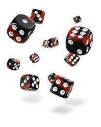 Oakie Doakie Dice D6 Glow in the Dark 12mm (36)
