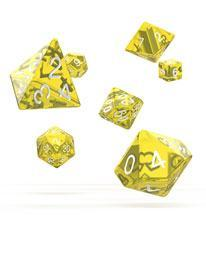 Oakie Doakie Dice RPG Set Translucent (7)