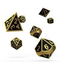 Oakie Doakie Dice RPG Set Metal (7)