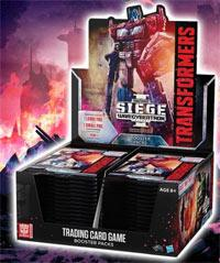 Transformers TCG - War for Cybertron Siege Booster Display