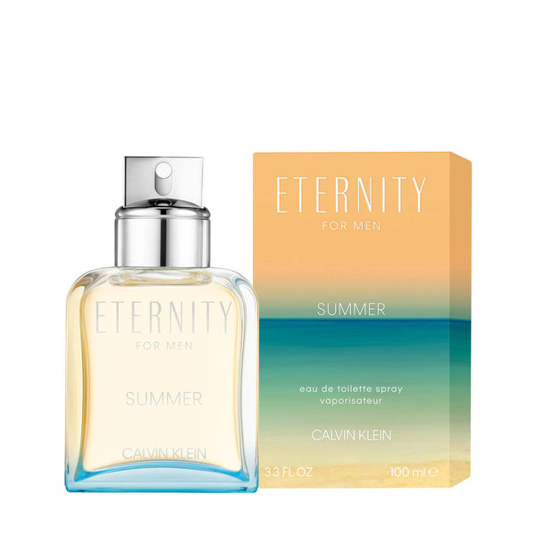 Calvin Klein Eternity for Men Summer 100ml EDT Spray (2019 Edition)