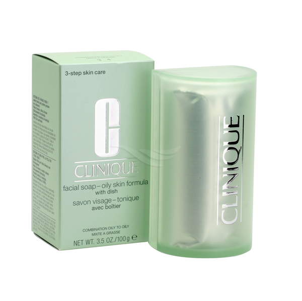 Clinique 150g Facial Soap Extra Mild with Dish (Very Dry to Dry)