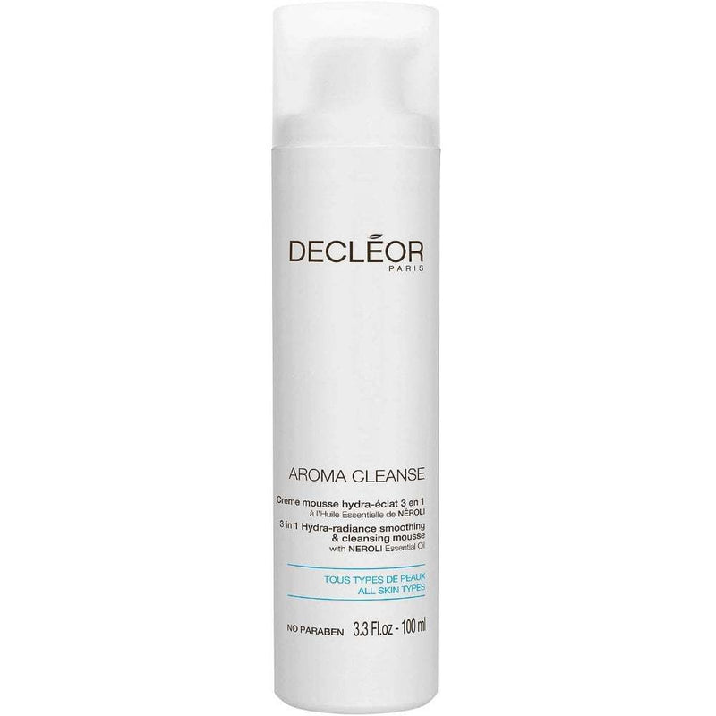 Decleor Aroma Cleanse 3-in-1 Hydra Radiance Smoothing & Cleansing Mousse 100ml