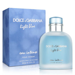 Dolce & Gabbana Light Blue Eau Intense Pour Homme 100ml EDP Spray For Men