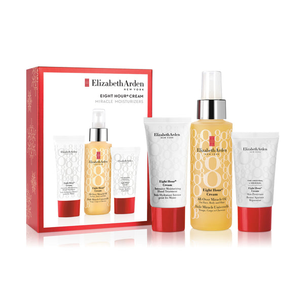 Elizabeth Arden Eight Hour Cream Miracle Moisturisers Gift Set