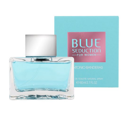 Antonio Banderas Blue Seduction for Women 80ml EDT Spray