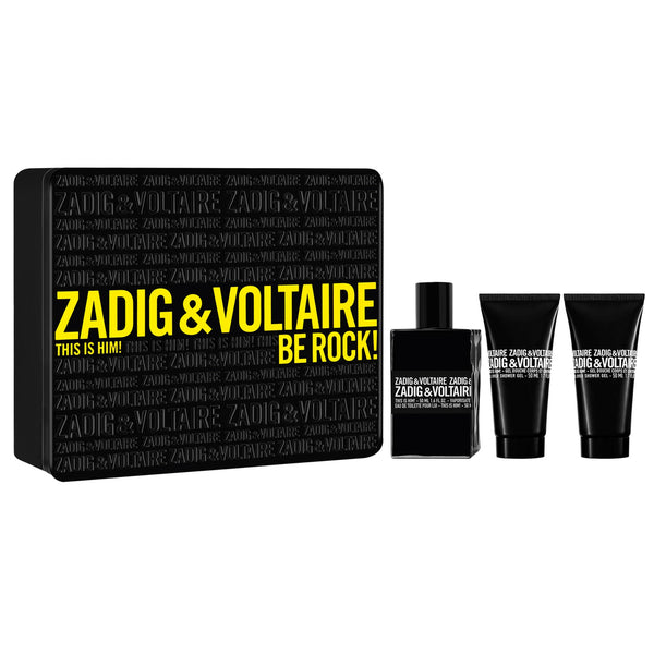 Zadig & Voltaire This is Him! 100ml EDT Spray / 2 x 75ml Shower Gel