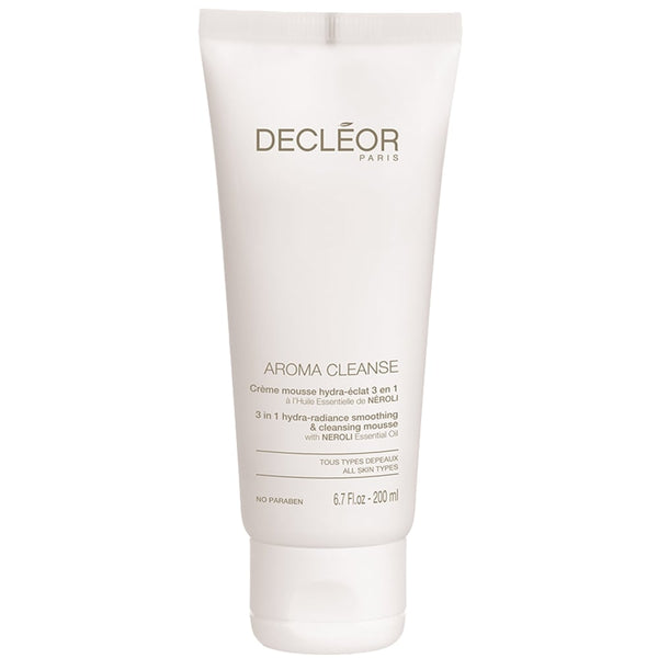 Decleor Aroma Cleanse 3-in-1 Hydra Radiance Smoothing & Cleansing Mousse 200ml