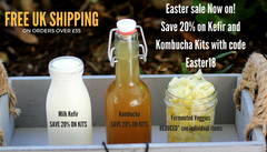 Kefir and kombucha kits