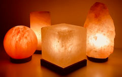 Happy salt lamps