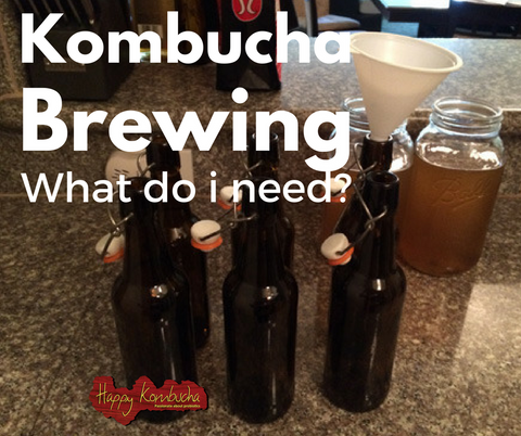 Kombucha equipment
