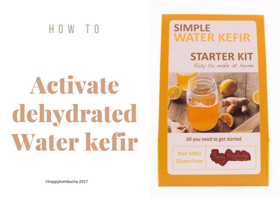 activate water kefir