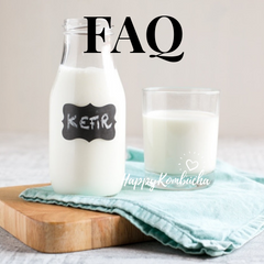Milk kefir FAQ