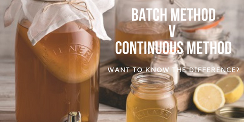 Batch method v continuous method