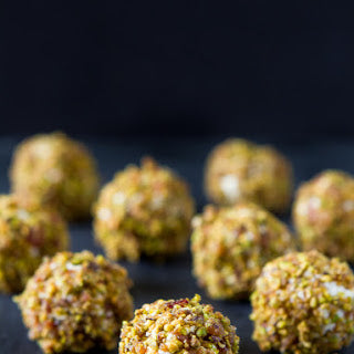 nut crusted balls
