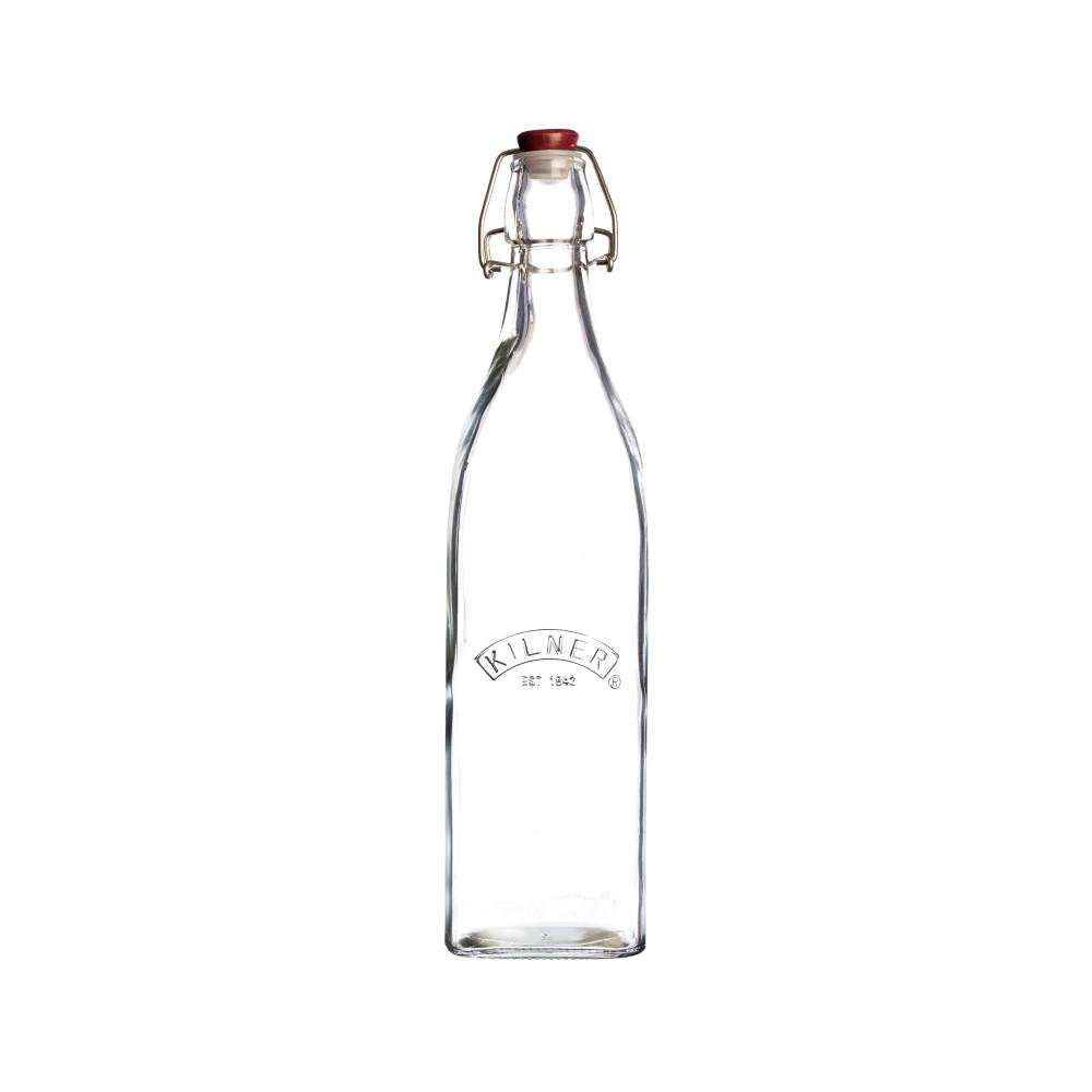 Clip Top Square Bottle 0.55 Litre