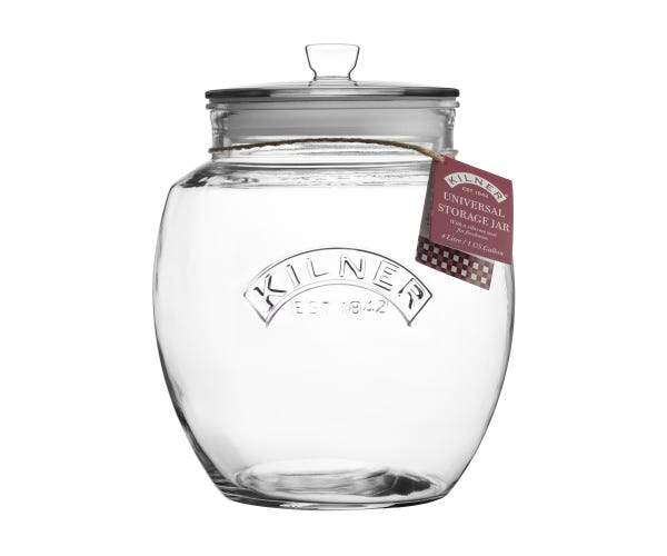 Kilner Push Top Jar 4L