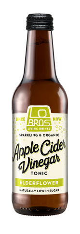 Lo Bros Organic Apple Cider Vinegar - Elderflower (330ml)