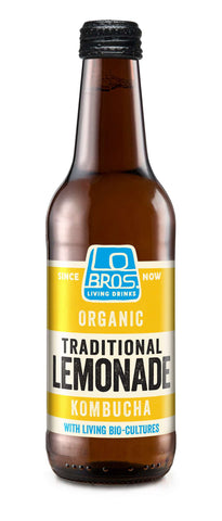 Lo Bros Kombucha Living Soda – Lemonade