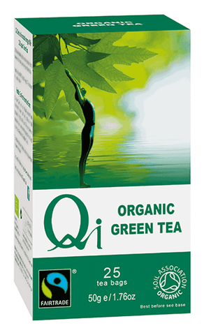 QI Organic Green Tea Bags