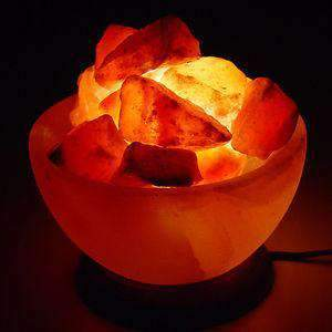 Fire Basket salt lamp