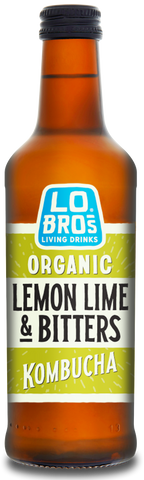 Lo Bros Kombucha Living Soda – Lemon, Lime & Bitters