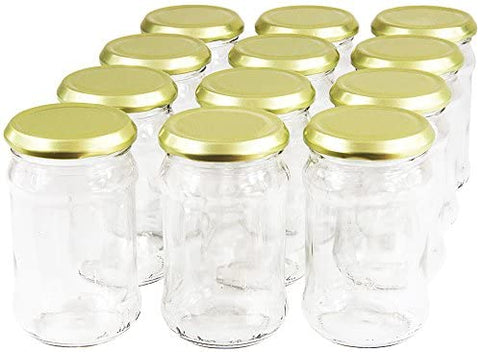 300ml Food Jam Jar With Twist Off Lid