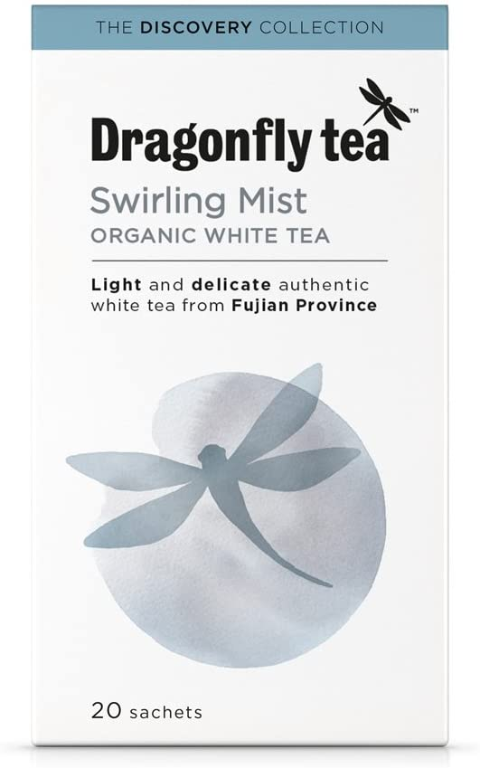 Organic Swirling Mist White Tea Bags